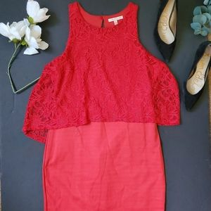 Gibson Latimer Red Dress
